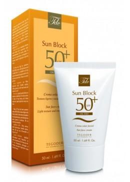 TDC Krem ochronny z filtrem SPF50 beztłuszczowy bloker SUN BLOCK SPF50 OILFREE 50ml